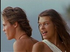 Brian Krause and Milla Jovovich in Return to the Blue Lagoon
