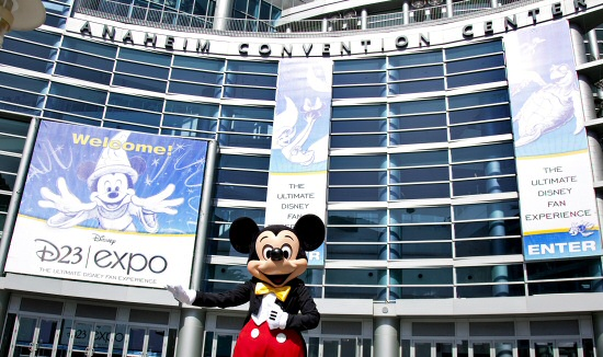 Mickey welcomes you to D23