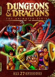 Dungeons and Dragons: The Animated Series DVD cover art