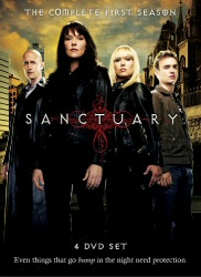 Sanctuary: The Complete First Season DVD cover art