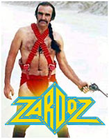 Sean Connery in Zardoz