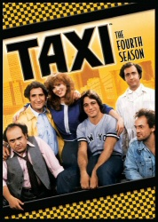 Taxi: The Fourth Season DVD cover art