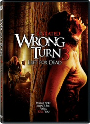 Wrong Turn 3: Left For Dead DVD cover art