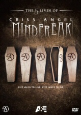 The 5 Lives of Criss Angel: Mindfreak DVD cover art