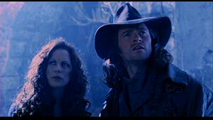 Kate Beckinsale and Hugh Jackman from Van Helsing