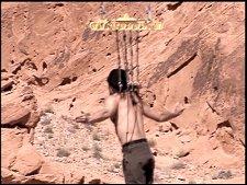 Criss Angel hanging around