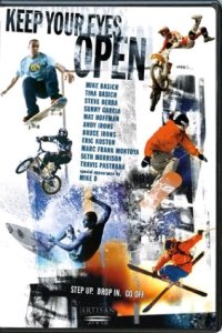 Keep Your Eyes Open DVD cover art