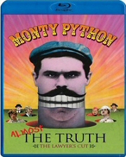 Monty Python: Almost the Truth Blu-Ray cover art