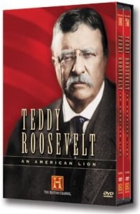 Teddy Roosevelt: An American Lion DVD cover art