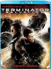 Terminator: Salvation Region B Blu-Ray cover art