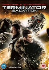 Terminator: Salvation Region 2 DVD cover art