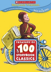Treasury of 100 Storybook Classics DVD cover art
