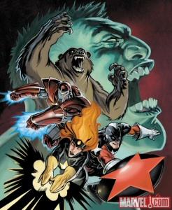 Hulk: Winter Guard cover art