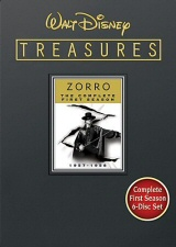 Walt Disney Treasures: Zorro: The Complete First Season DVD