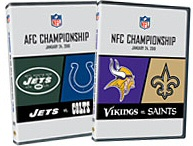 AFC and NFC Championship DVDs
