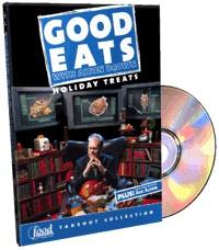 Good Eats: Holiday Treats DVD cover