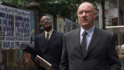 Delroy Lindo and Gene Hackman from Heist