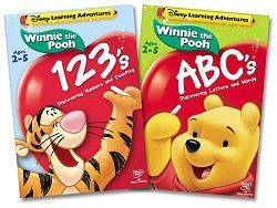 Winnie the Pooh: ABCs and 123s DVD