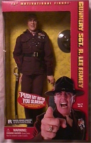 R. Lee Ermey toy in box