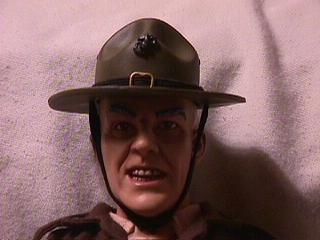 R. Lee Ermey toy closeup