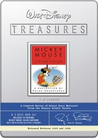 Walt Disney Treasures - Mickey Mouse In Living Color DVD cover
