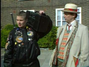 Doctor Who: Remembrance of the Daleks: Sophie Aldred and Sylvester McCoy