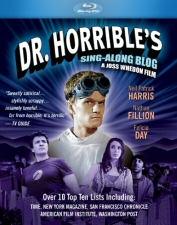 Dr. Horrible's Sing-Along Blog Blu-ray Cover Art