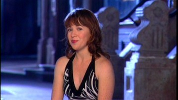 The now teenage Aileen Quinn from Annie