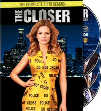 The Closer Season 5 DVD Cover Art