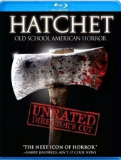 Hatchet Blu-ray Cover Art