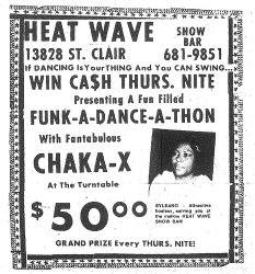 Heat Wave Show Bar