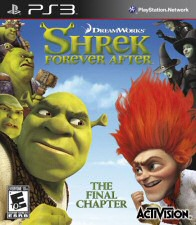 Shrek Forever After PS3 Cover Art