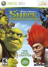 Shrek Forever After Xbox Cover Art
