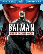 Batman Under the Red Hood DVD Cover Art