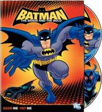 Batman: The Brave and the Bold Season One Part One DVD Cover Art