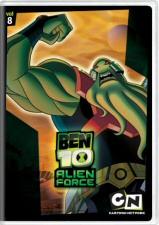 Ben 10 Alien Force Volume 8 DVD Cover Art