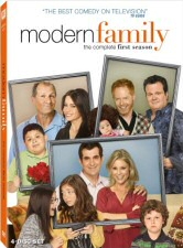 Modern Family Season 1 DVD Cover Art