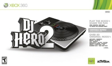 DJ Hero 2: Turntable Bundle for Xbox 360