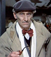 Peter Cushing in From Beyond the Grave