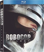 Robocop Trilogy Blu-ray Cover Art