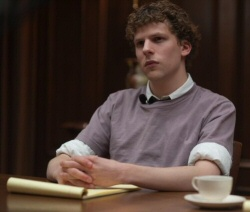 Jesse Eisenberg in the Social Network