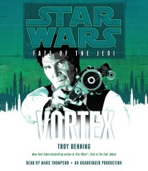 Star Wars: Fate of the Jedi: Vortex Audiobook Cover Art