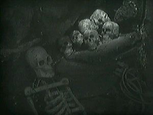 Skulls from Doctor Who: An Unearthly Child