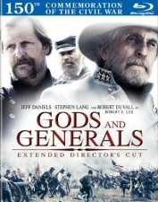 Gods and Generals Blu-Ray
