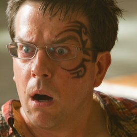 Ed Helms and the illegal tattoo!
