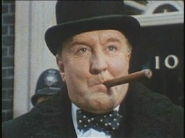 Robert Hardy in Winston Churchill The Wilderness Years