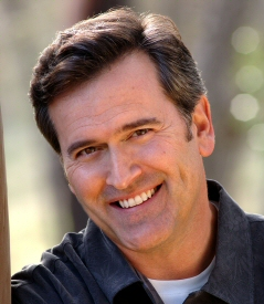 Bruce Campbell smiling