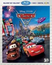 Cars 2 3D Blu-Ray