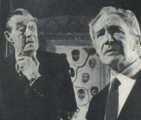 John Carradine and Vincent Price