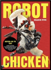 Robot Chicken Season 5 DVD